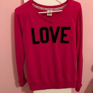 Victoria's Secret sweater- PINK collection